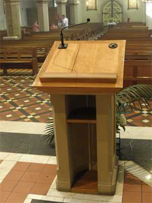 Lectern Microphone